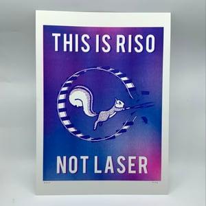 RISKO merch - This is riso not laser