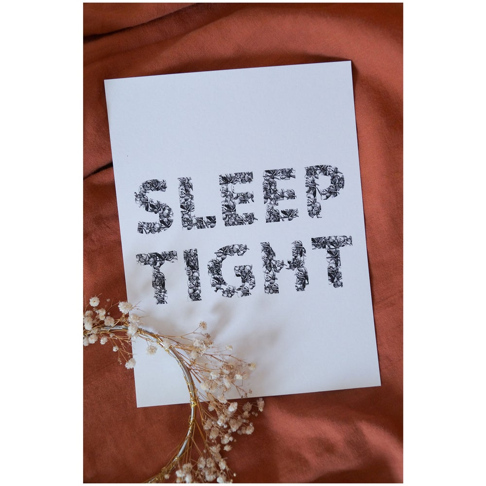 Image of SLEEP TIGHT Art Print