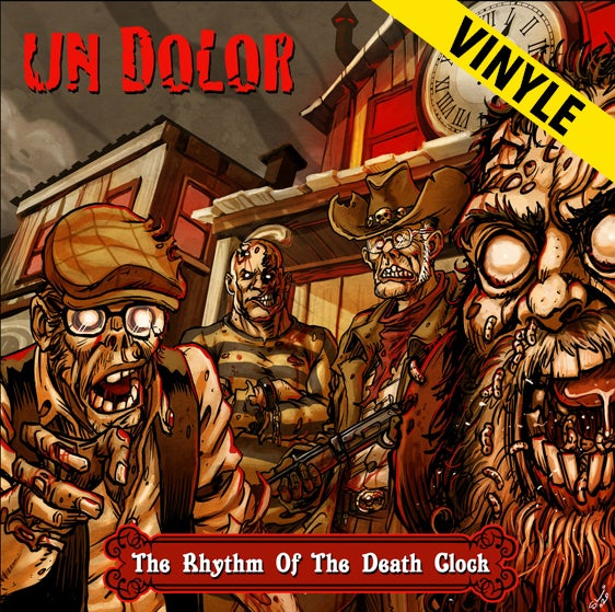 "Un Dolor ""The Rhythm Of The Death Clock"" LP"