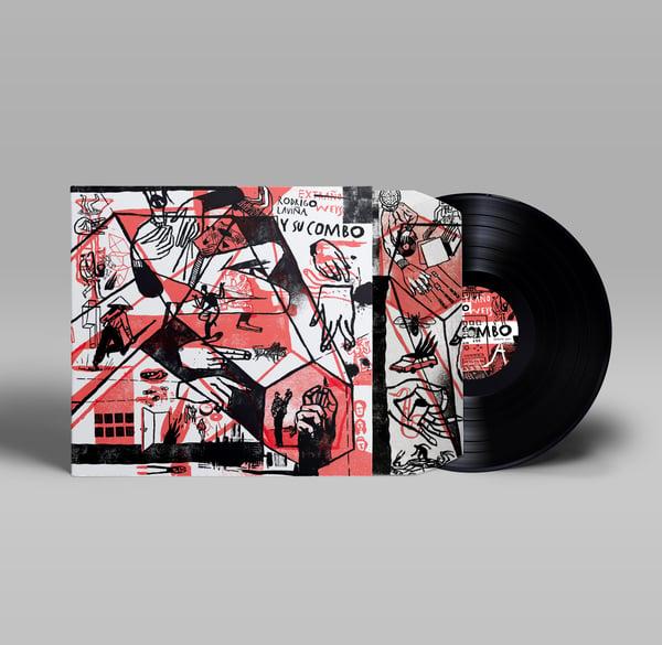 Image of LP EDICIÓ ESPECIAL LIMITADA. EXTRAÑO WEYS: RODRIGO LAVIÑA Y SU COMBO