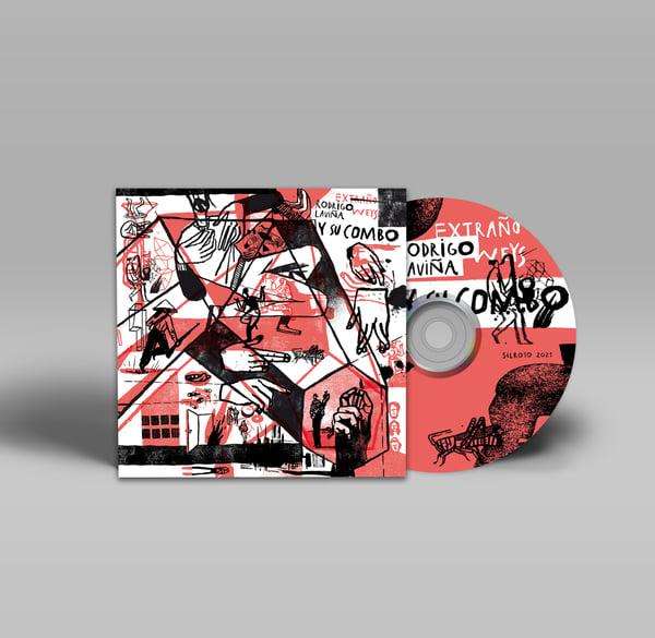 Image of CD DIGIPACK. EXTRAÑO WEYS: RODRIGO LAVIÑA Y SU COMBO