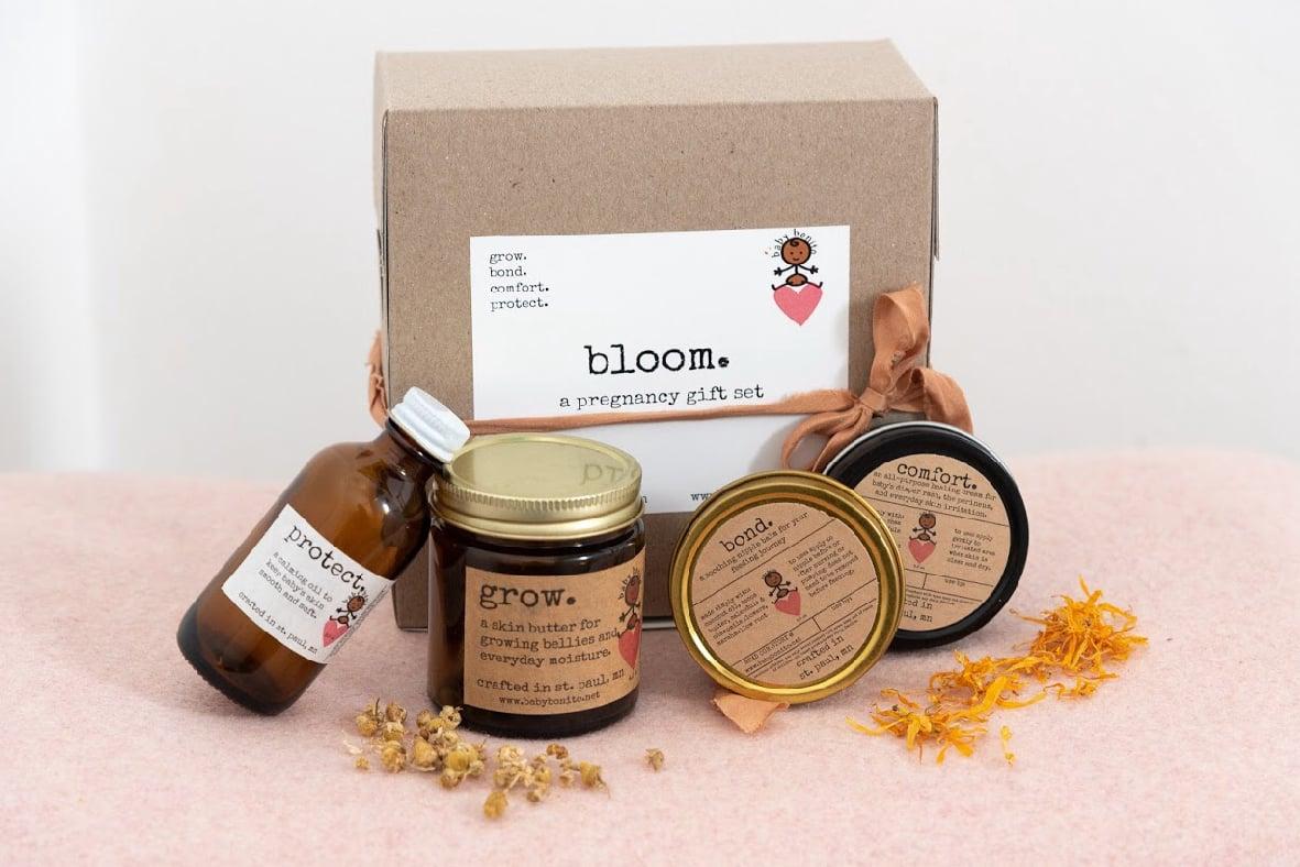 Image of bloom. (pregnancy gift set)