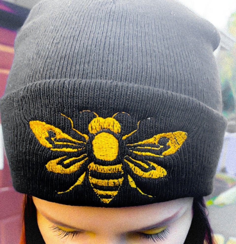 Image of bee beanies