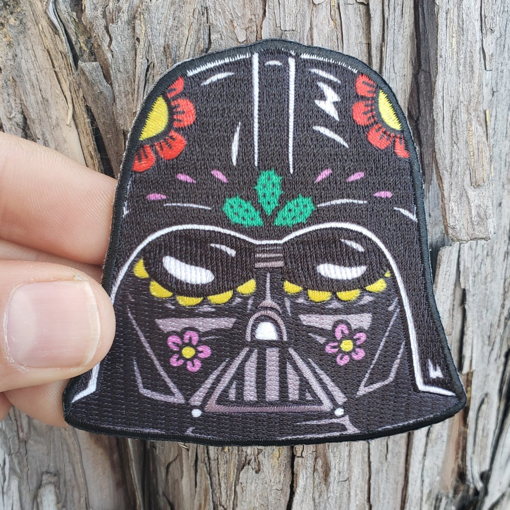 "Vader Calavera 3"" Patch"