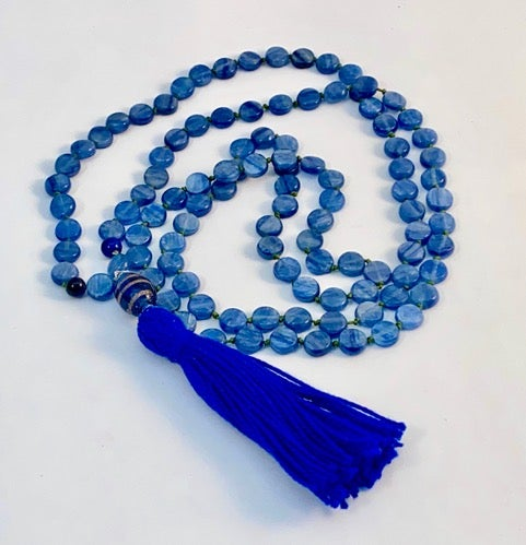 Image of Visuddha Kyanite Mala