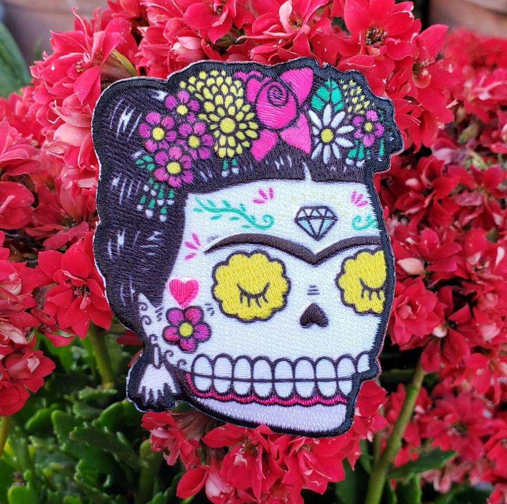 """Frida Artista Calavera 3"""" Patch"""