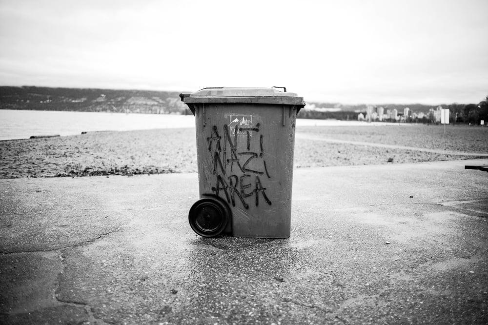 "Image of Anti Nazi Area, Vancouver - 11""x14"""