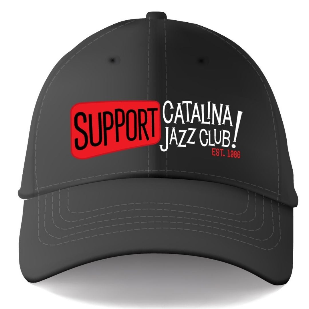"""Image of """"SUPPORT Catalina Jazz Club! Est 1986"""" Limited Edition HAT - Black"""