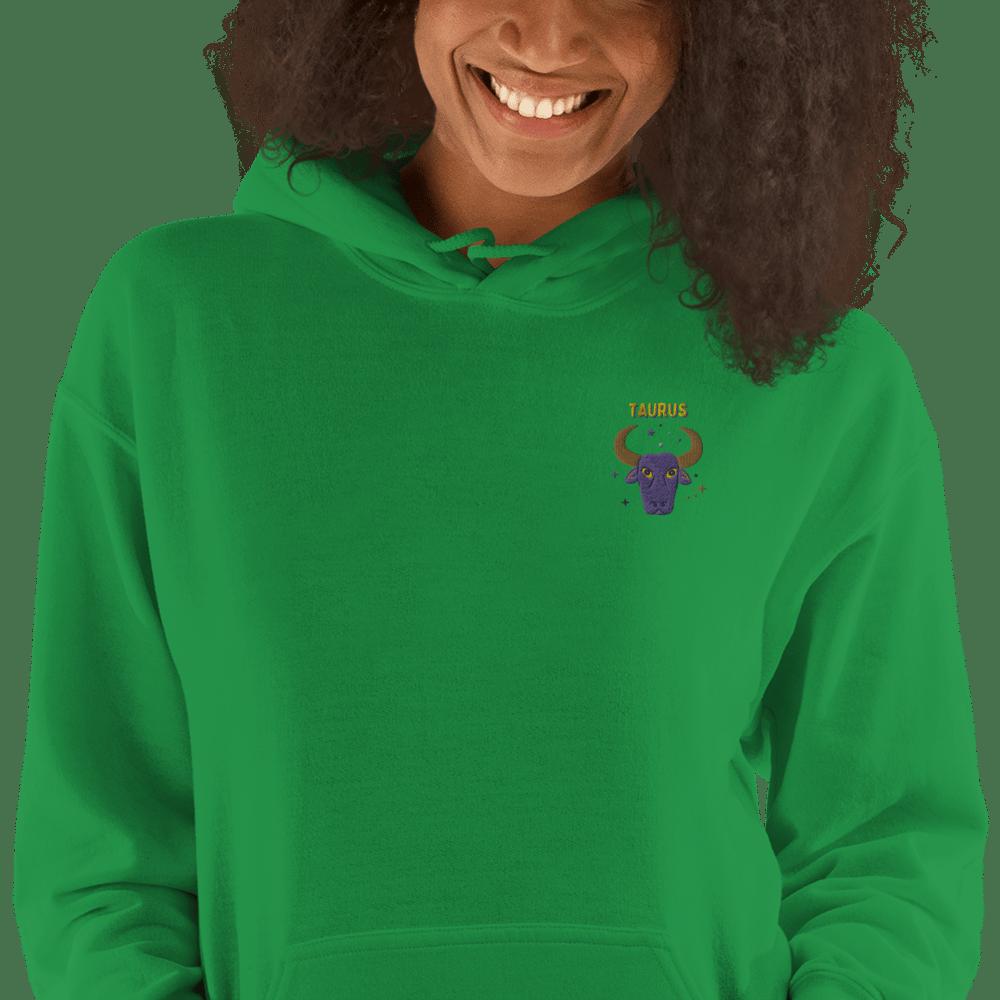 Taurus Embroidered Unisex Hoodie