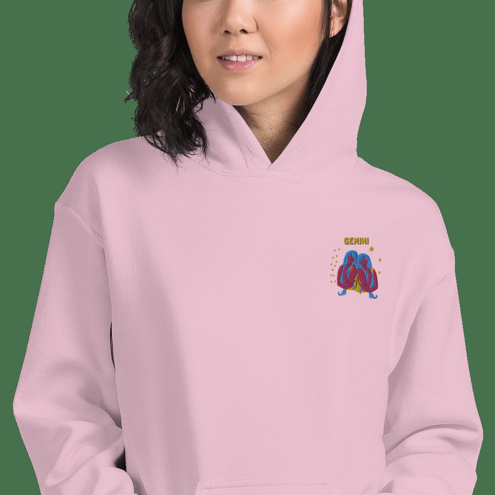 Gemini Embroidered Unisex Hoodie