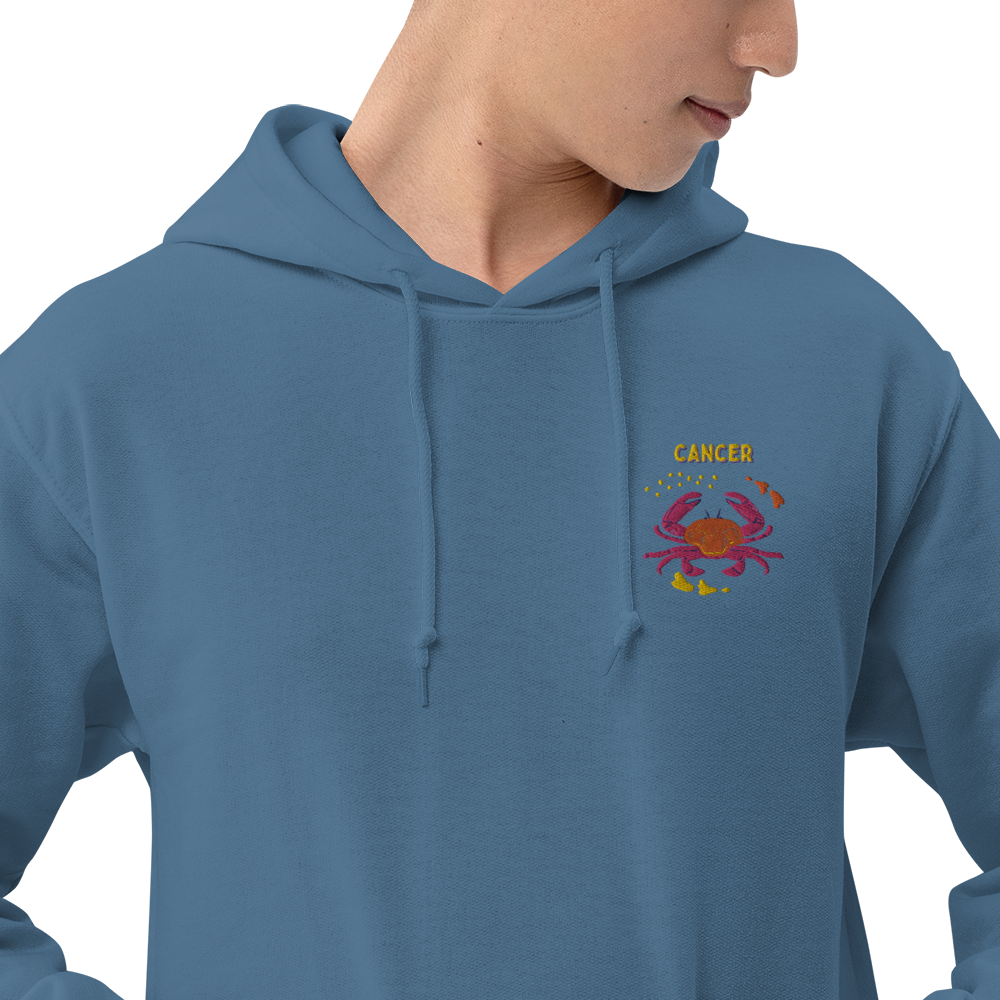 Cancer Embroidered Unisex Hoodie
