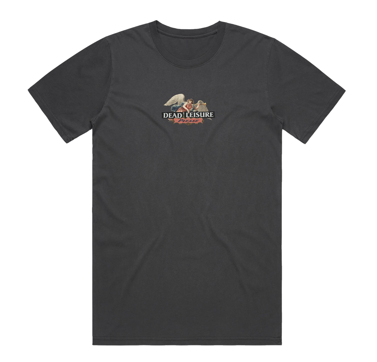 Angel T-shirt - Black Fade