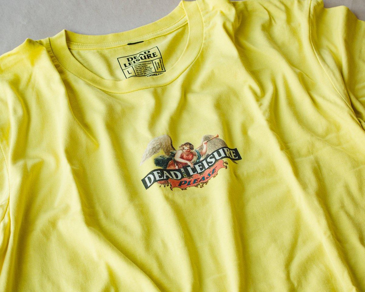Angel T-shirt - Lemon Yellow
