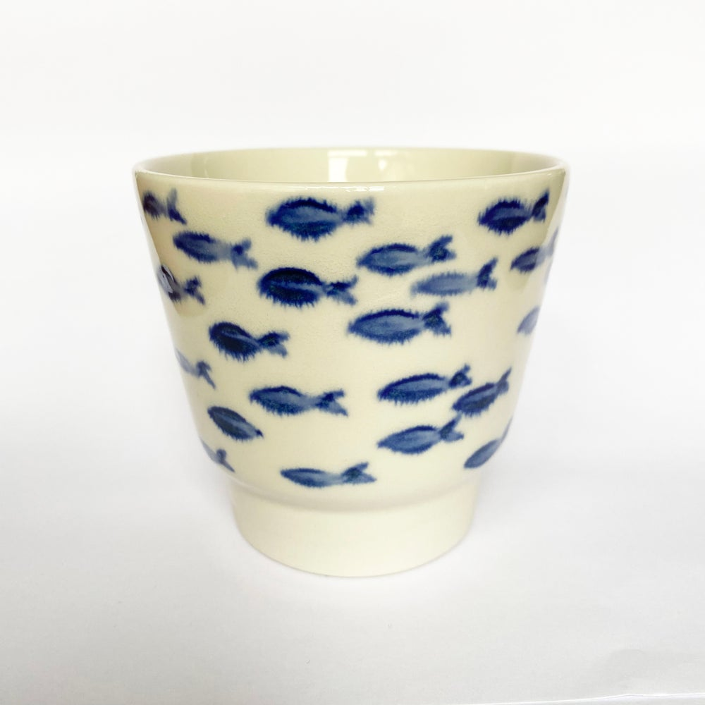Image of Blue cup 101