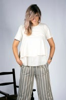 Image 4 of Pantalone righe