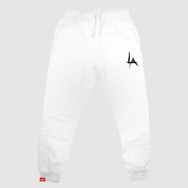 Image of LA Joggers Tapered - (WHITE)