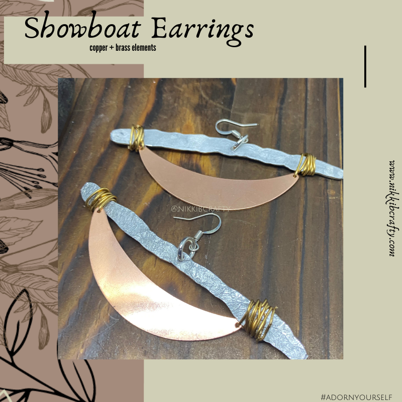 Image of Showboat Earrings