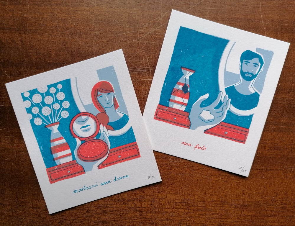 Image of (dis)amore / Mynameisbri Art Prints