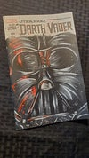 """VADER"" Hand Painted Comic Cover"