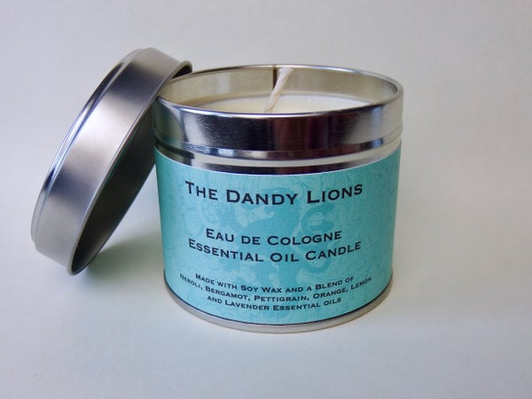 Image of NEW - Eau de Cologne Essential Oil Candle