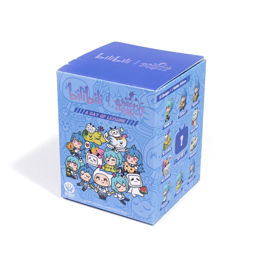 Image of BILIBILI X GREENIE & ELFIE CROSSOVER BLINDBOX  (INDIVIDUAL)