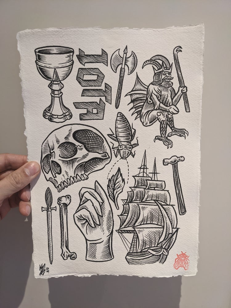 Image of Iota - original