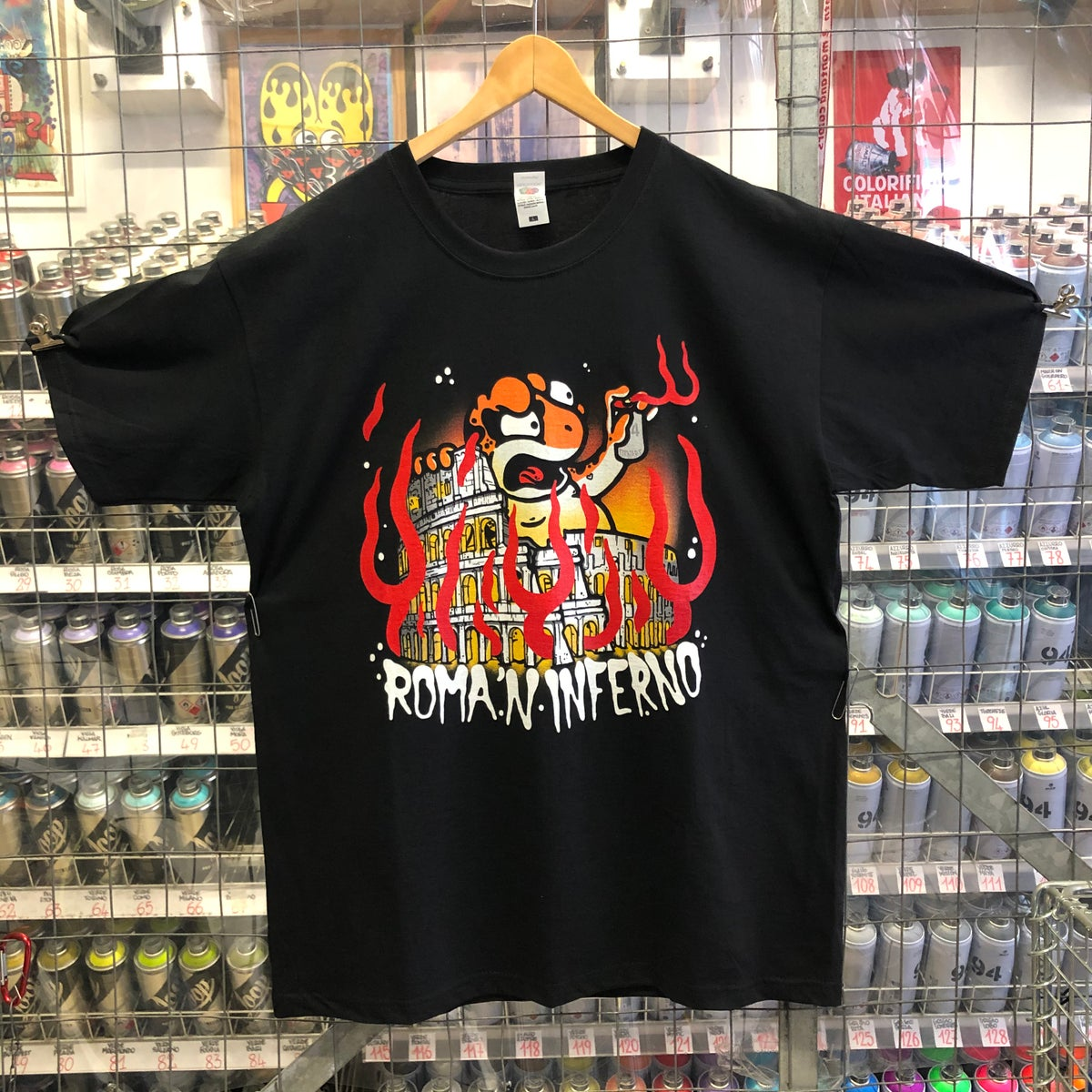 Image of tshirt ROMA 'N INFERNO