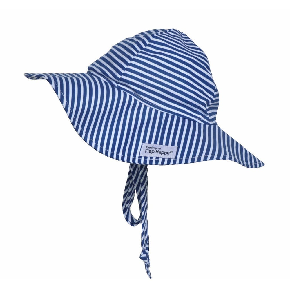 Image of Navy Preppy Stripe Hat