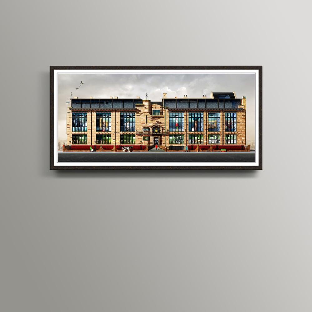 Image of The Glasgow School Of Art Print