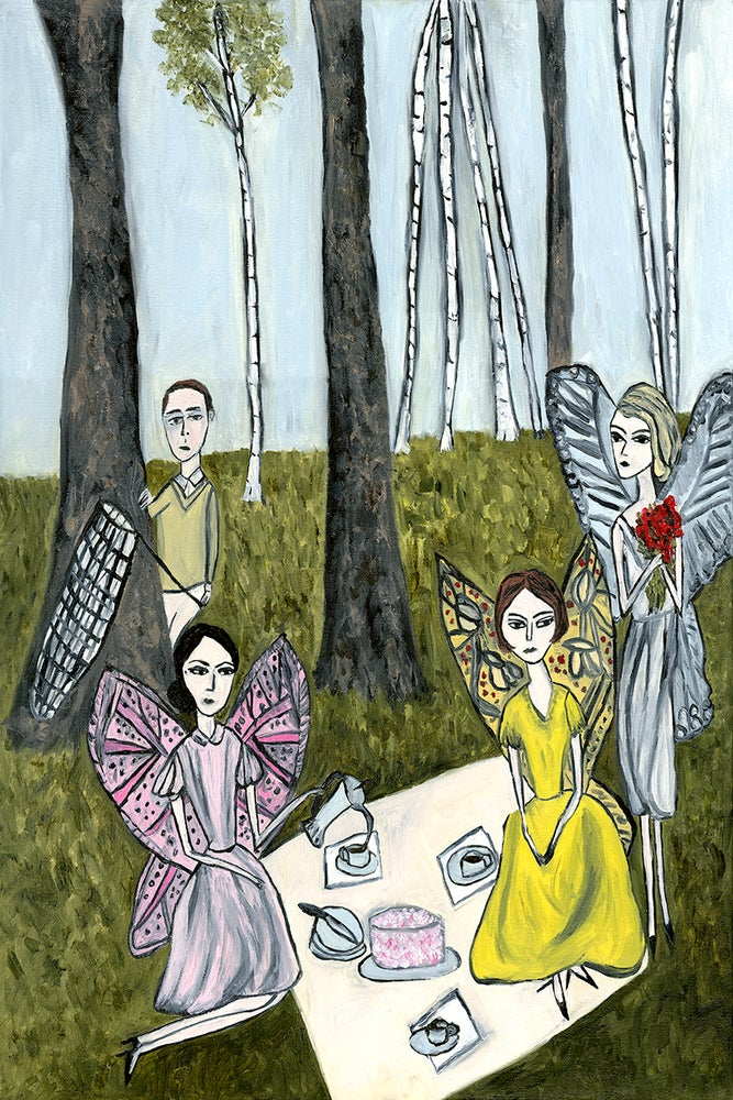Image of Nabokov's Dream. Limited edition print.