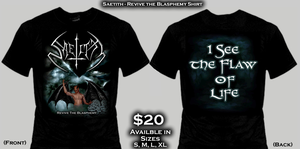 Image of Revive The Blasphemy Shirt