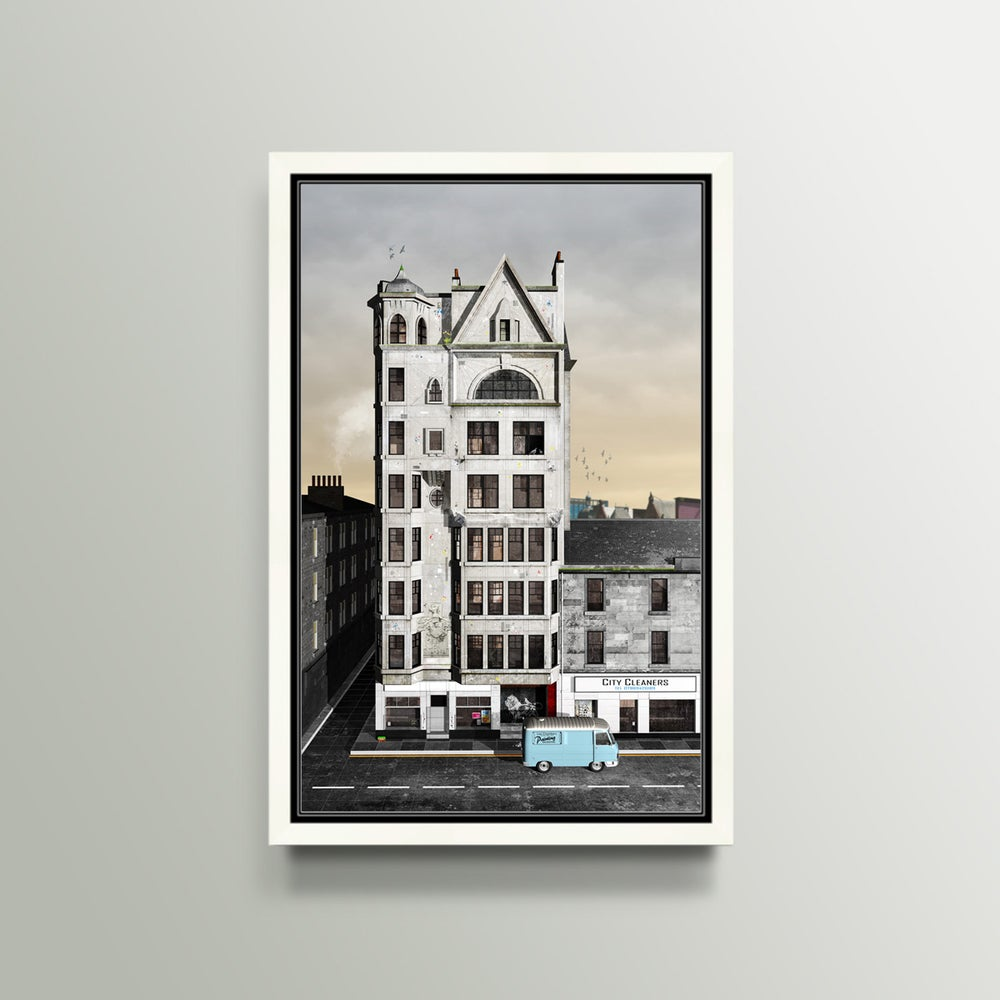 Image of The Lion Chambers Glasgow Print