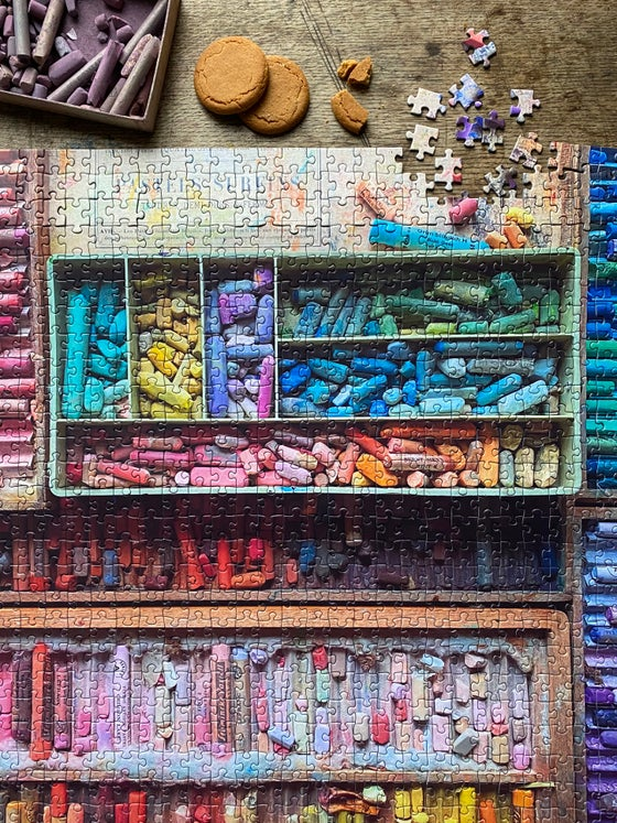Image of 'Betty's Pastels' 1000 Piece Jigsaw Puzzle