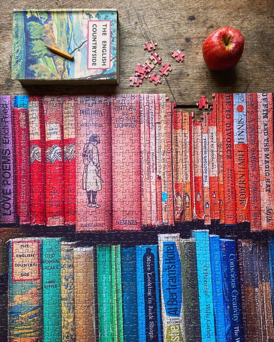 Image of 'Book Shelf' 1000 Piece Jigsaw Puzzle