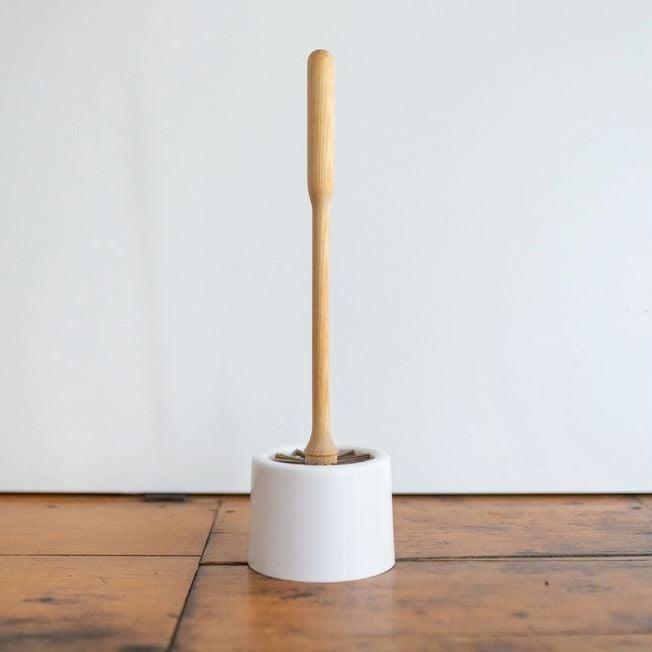 Image of Brosse de toilettes + pot