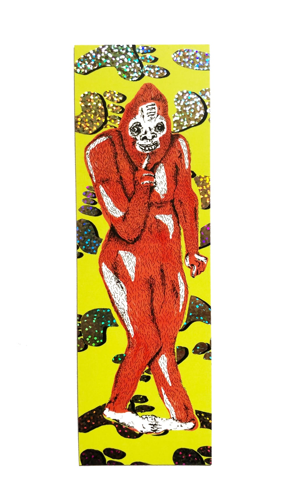 Image of Bigfoot Bookmark