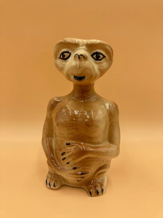 Image of Vintage E.T ceramic money box