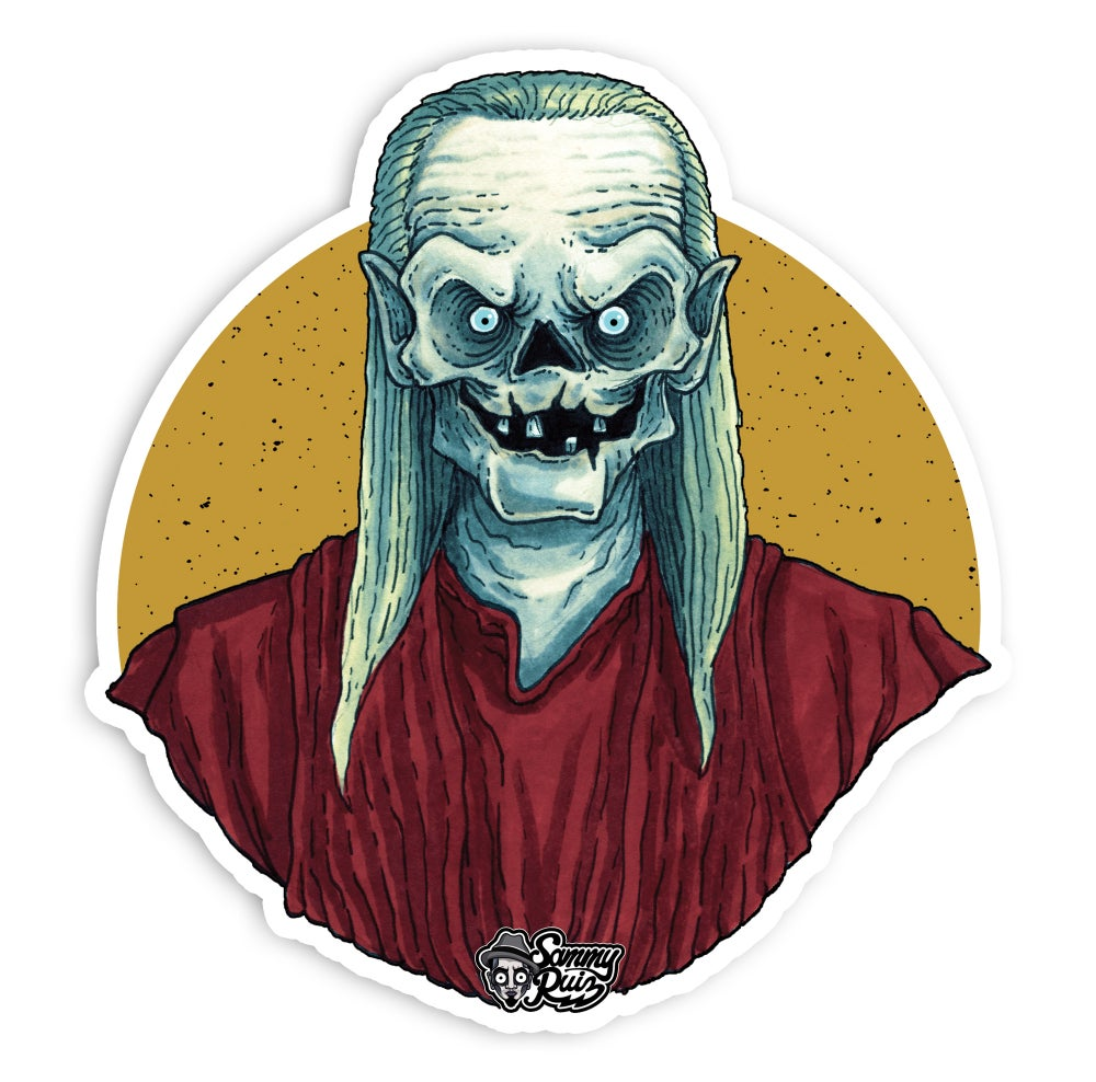 The Crypt Keeper (Clear Sticker)