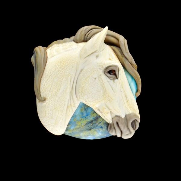 Image of XL. Allegro - Flamework Glass Sculpture Bead