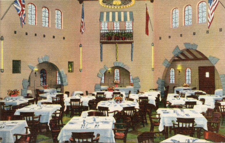 Image of Rupert Gray Restaurant Interior Postcard