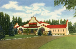 Image of Rupert Gray Exterior Postcard