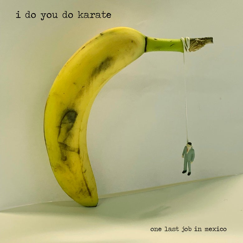 Image of I DO YOU DO KARATE :: One Last Job In Mexico LP