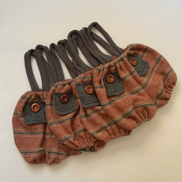 Image of Rusty Suspender Shorties