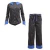Bat Pajama Set - Moonless Night x Blue Quartz