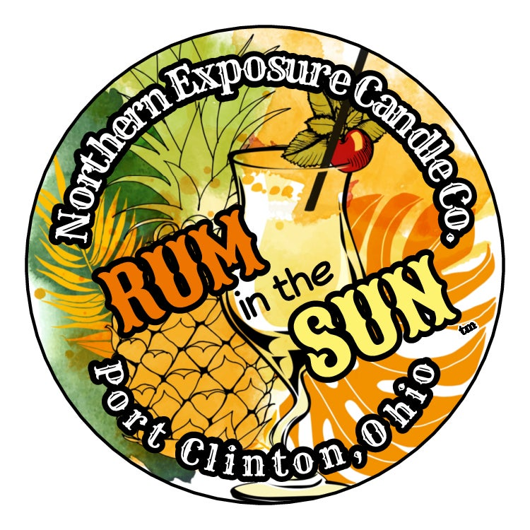 "Image of ""Rum In The Sun"" Soy Candle"