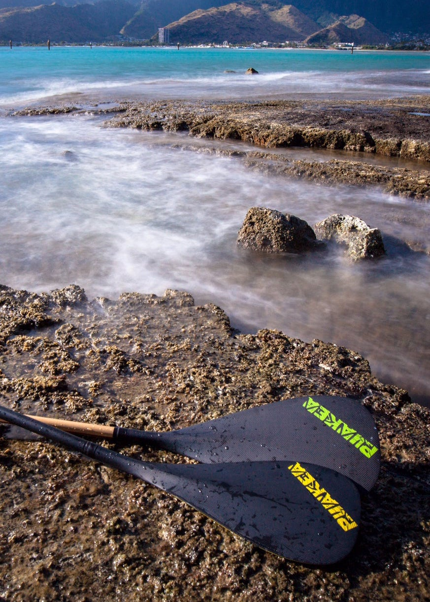 Image of Milu Carbon Outrigger Paddle