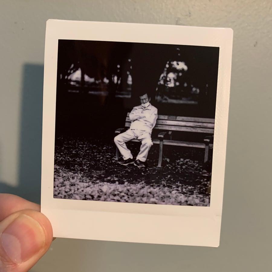 Image of Bench Sleeper, mini print