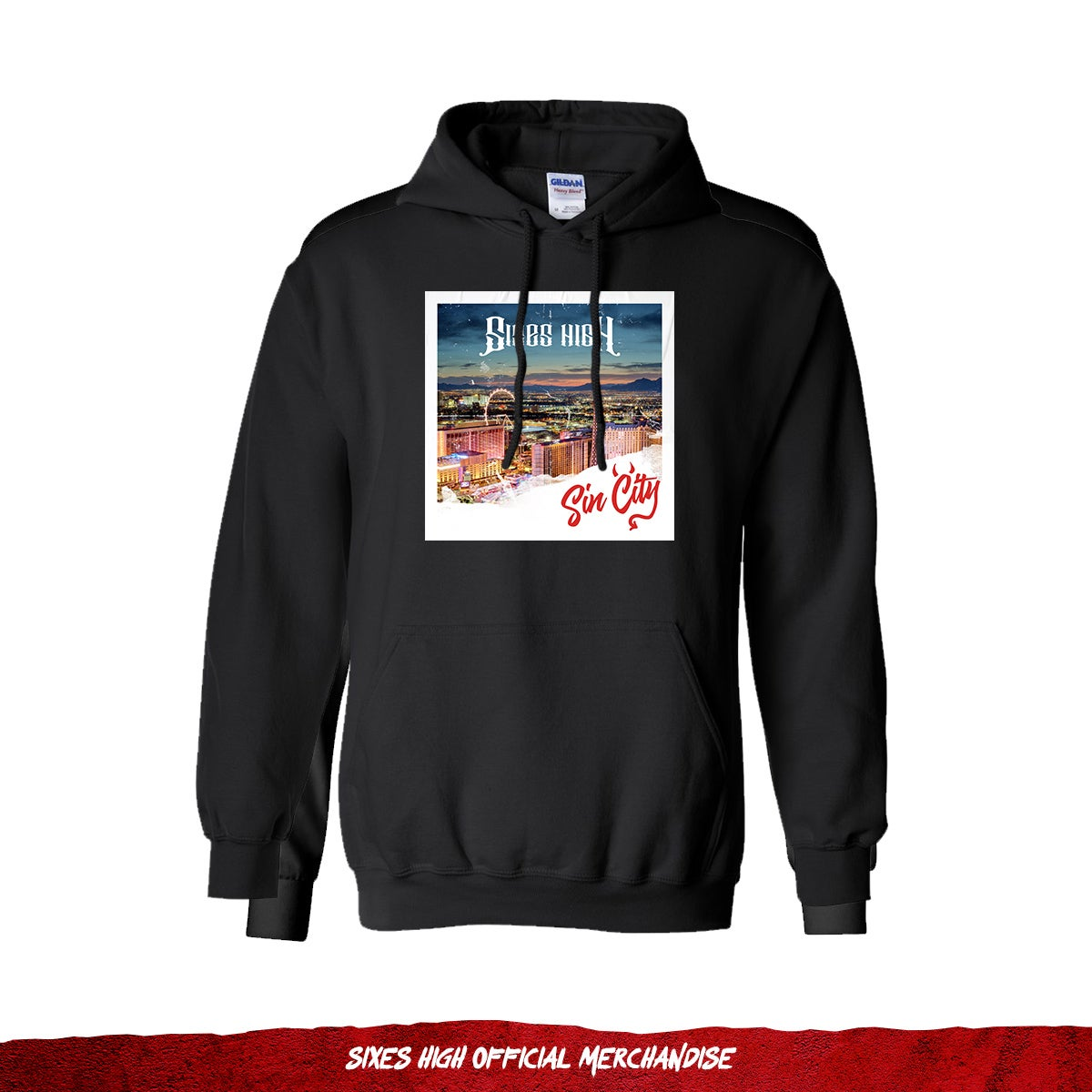 Sin City Photo | Pullover Hoodie