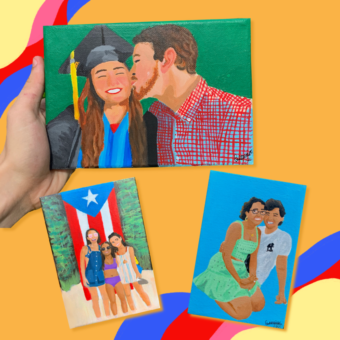 Image of Personalized Canvas (5x7)