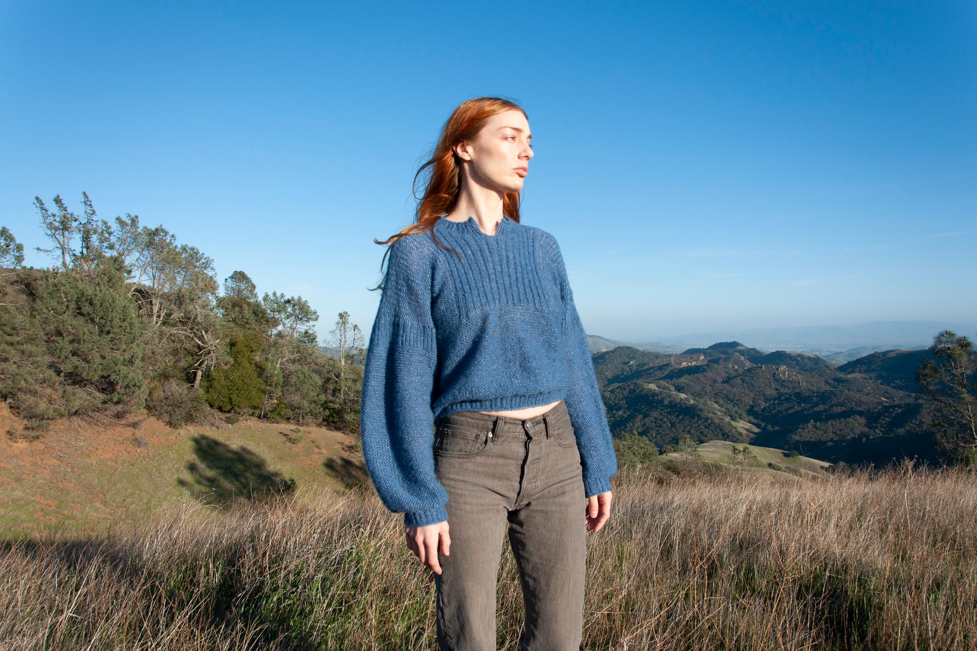 Image of Blue Sweater